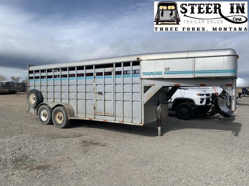 1994 Travalong STOCK TRAILER Livestock Trailer