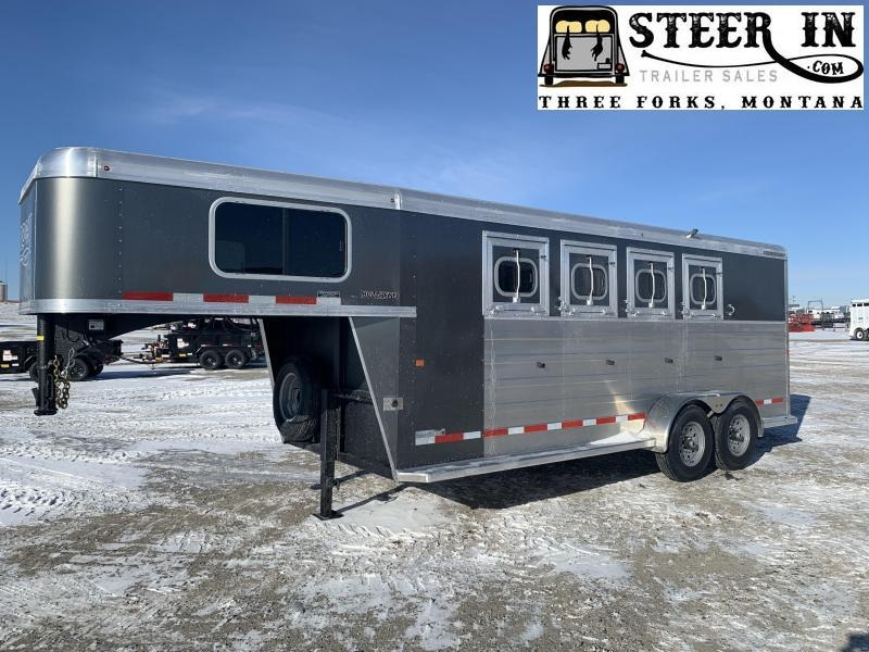 2020 Logan  BULLSEYE 4H GN Horse Trailer