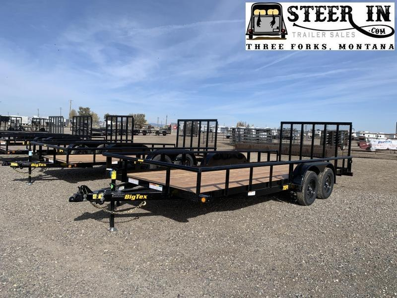 2020 Big Tex 20' 70PI Utility Trailer