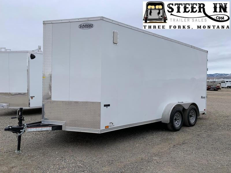 2020 Cargo 7X16' Enclosed Cargo Trailer
