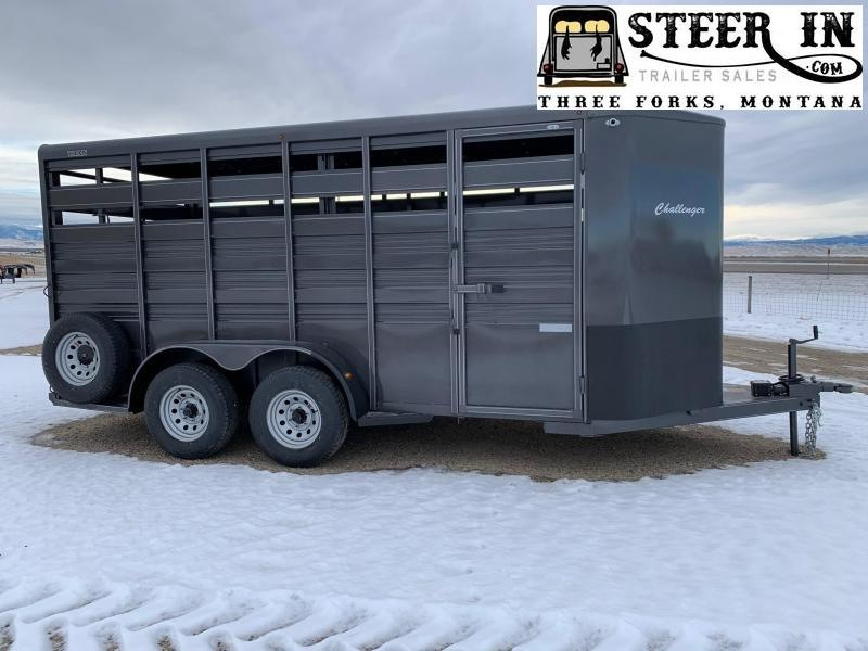 2020 Titan 16' BP Challenger Stock Trailer