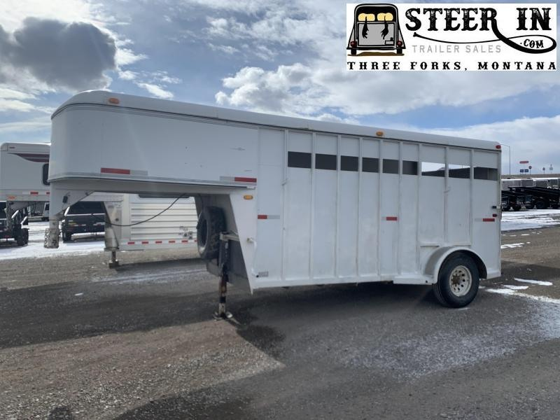 1993 Trails West 3H GN Horse Trailer