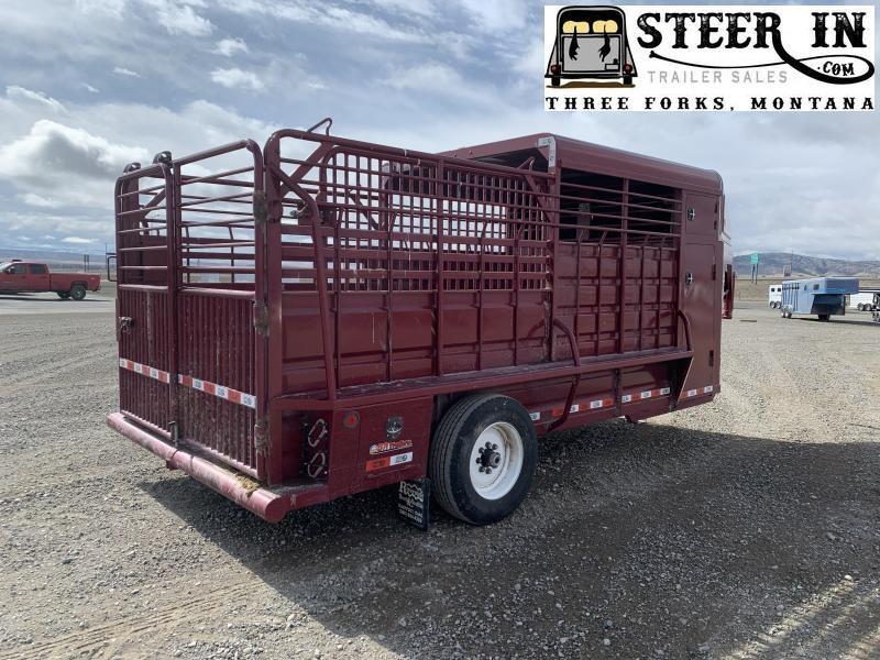 2019 GR Trailers STH6816 Livestock Trailer