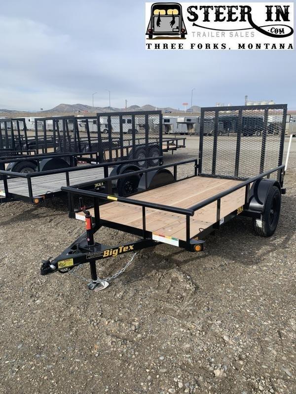 2020 Big Tex 30SA 10' Utility Trailer