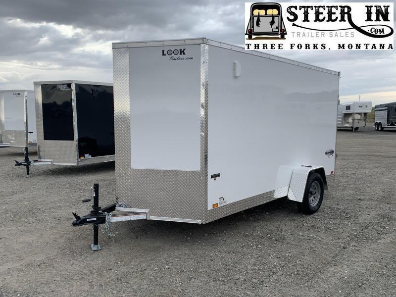 2020 Look 6X12' Enclosed Cargo Trailer