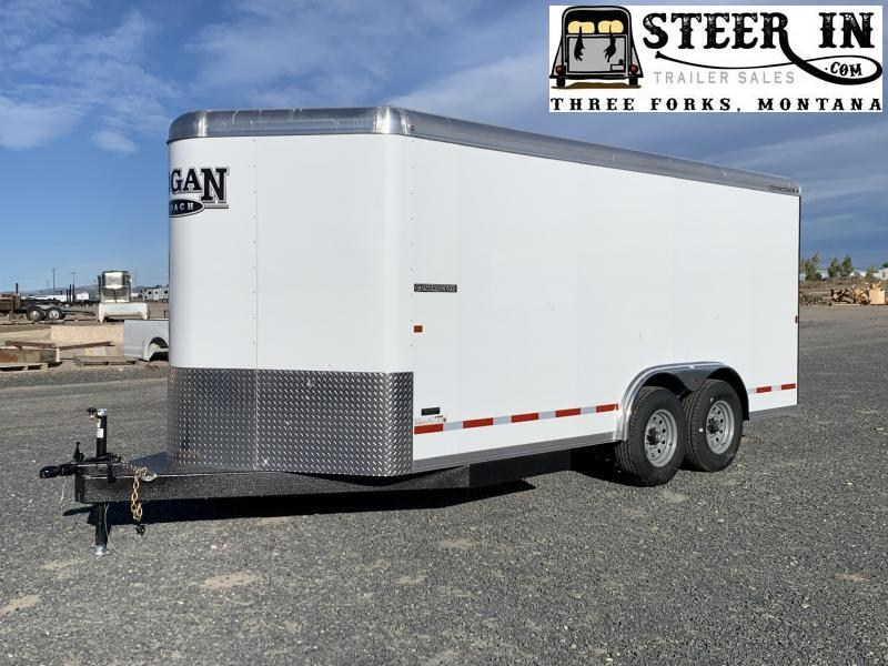 2020 Logan 16' Enclosed Contractor Trailer