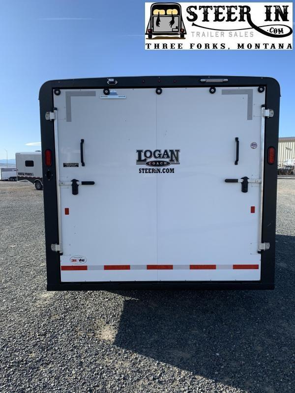 2020 Logan 16' Enclosed Contractor Trailer