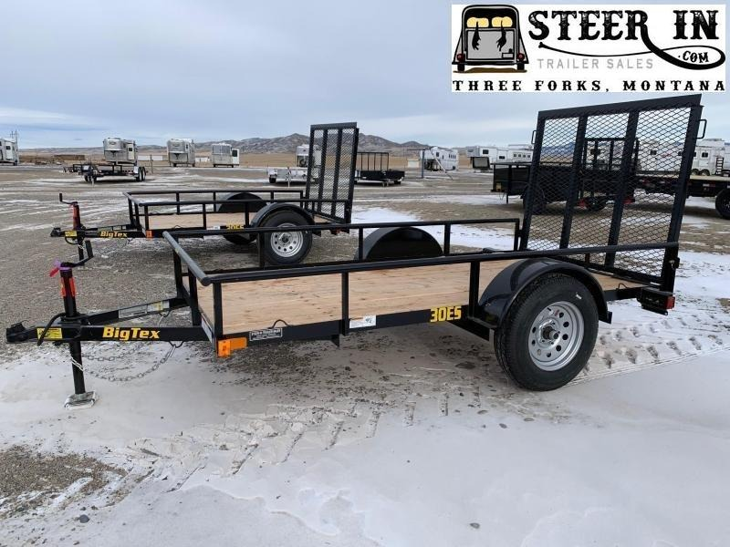 2020 Big Tex 30ES - 10' Utility Trailer