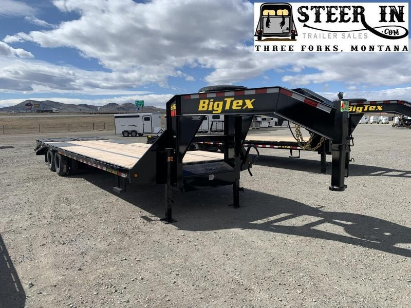 2020 Big Tex 22GN 30' (25+5) Flatbed Trailer