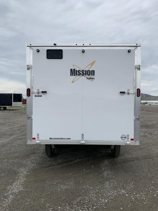 2020 Mission 101X14' Snowmobile Trailer