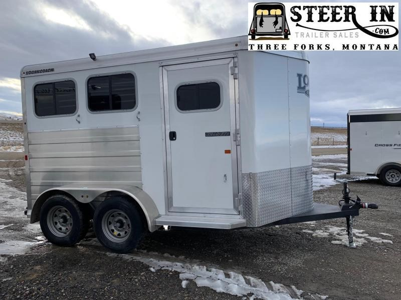 2020 Logan Coach BULLSEYE 2H BP Horse Trailer