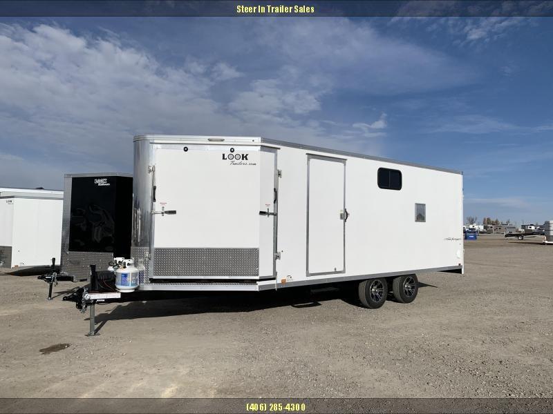 2020 Look 85X25' Snowmobile Trailer