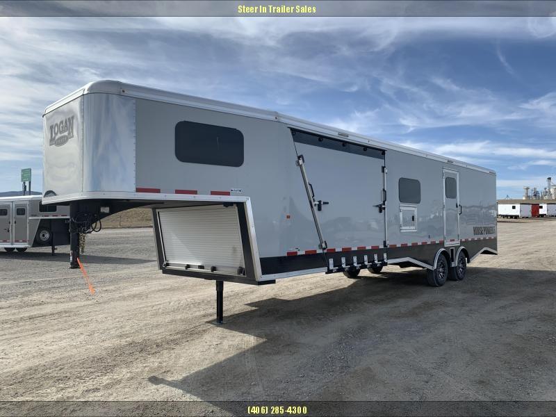 2019 Logan Coach Horsepower Pro Pkg Snowmobile Trailer