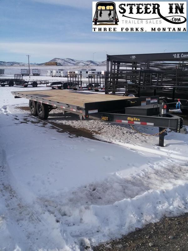 2020 Big Tex 14OT 24' Tilt Equipment Trailer