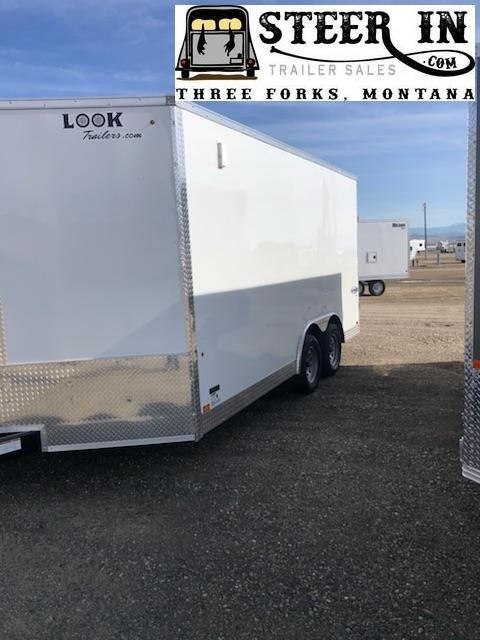 2020 Look 8.5X16' Enclosed Cargo Trailer