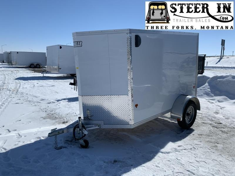 2019 EZ Hauler 5X8 Enclosed Cargo Trailer