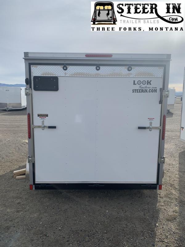 2020 Look 7X12' Enclosed Cargo Trailer