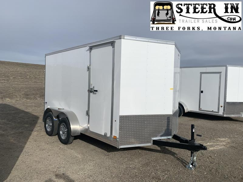 2020 Look 7X12' Enclosed Cargo Trailer