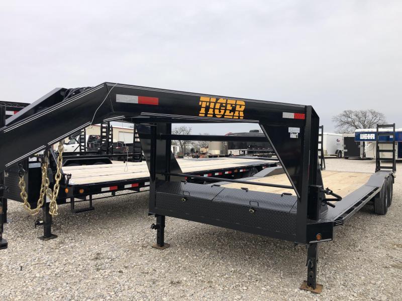 "2020 Tiger 102"" X 24' Gooseneck Utility Trailer"