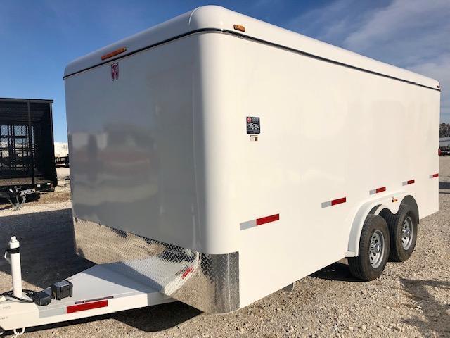 2019 W-W Trailer 16'X8' Enclosed Cargo Trailer
