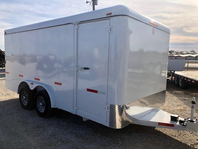2019 W-W Trailer 16'X8' Enclosed Cargo Trailer