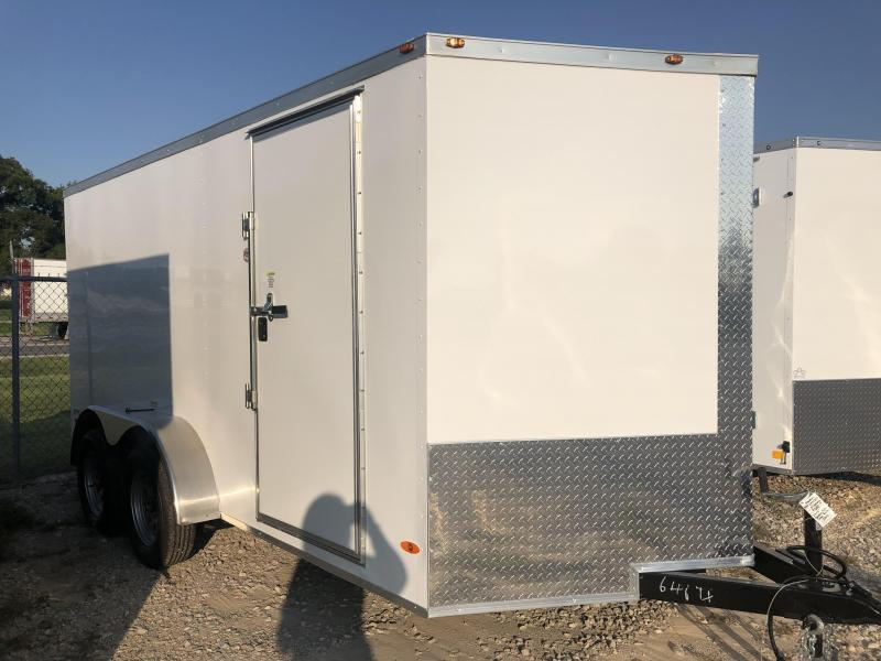 2020 Freedom Trailers 7'x14' Tandem Axle Enclosed Cargo Trailer