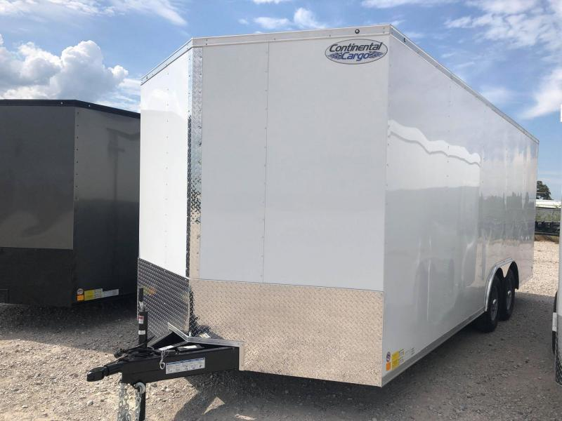 2020 Continental Cargo 8.5'x24' V-Series Enclosed Cargo Trailer