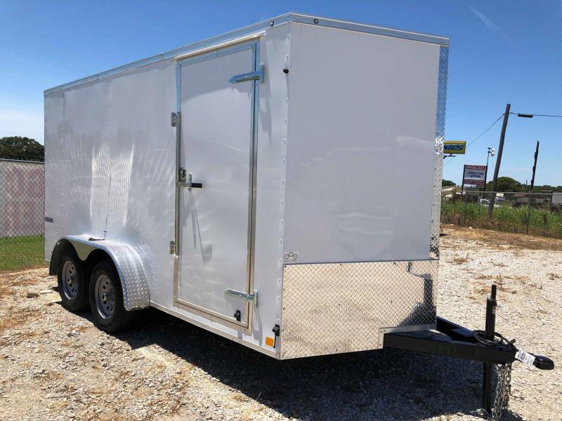 2020 Continental Cargo 14'X7' V-Series Enclosed Cargo Trailer