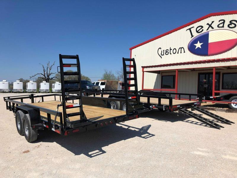 "2020 East Texas 83""X20' Equipment Trailer - 14K"