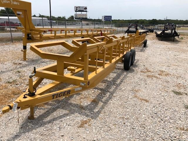 """2020 Tiger Trailers 48""""X20' 4-Bale Hay Trailer"""
