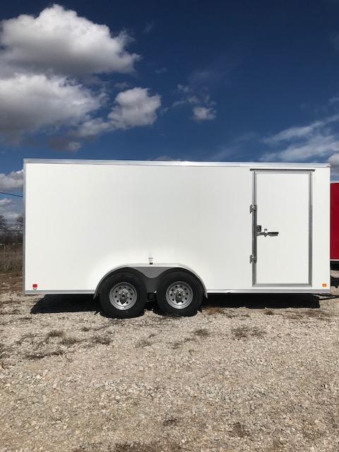 2021 Continental Cargo 7'X16' Enclosed Cargo Trailer
