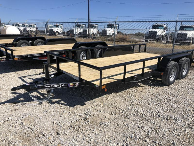 "2020 East Texas 83""X16' 7K Utility Trailer"
