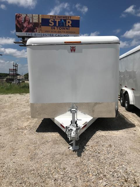 2020 W-W Trailer 20'X8' Enclosed Cargo Hauler Trailer