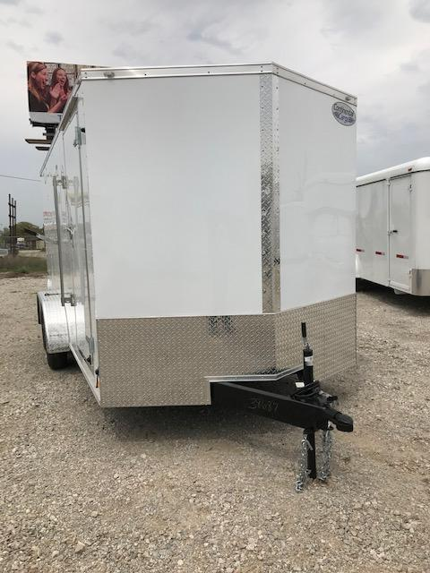 2021 Continental Cargo 7'x14' V-Series Enclosed Cargo Trailer