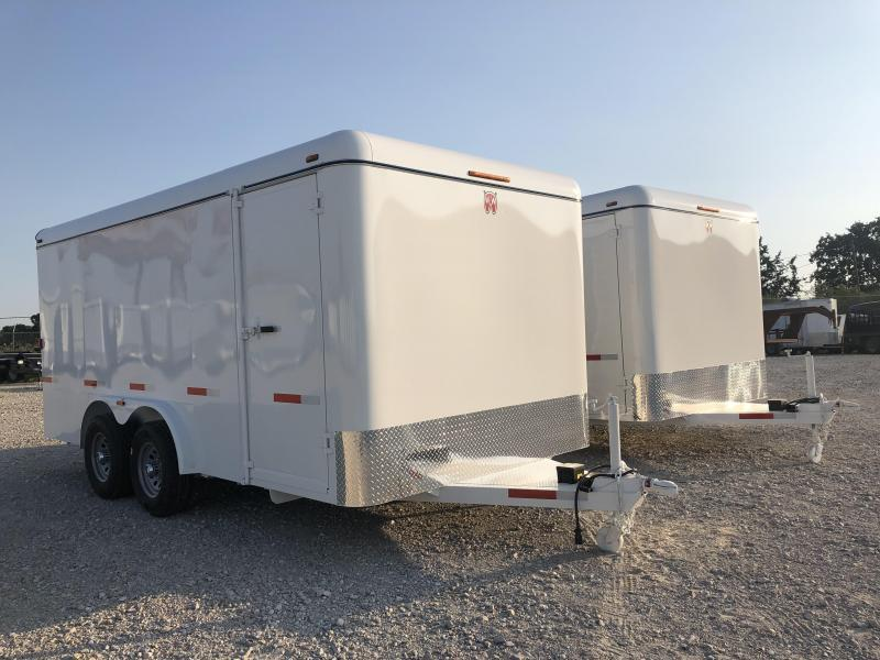 2020 W-W Trailer 16'x8' Enclosed Cargo Carrier Trailer