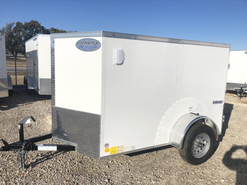 2020 Cargo Mate 5'x8' E-Series Enclosed Cargo Trailer