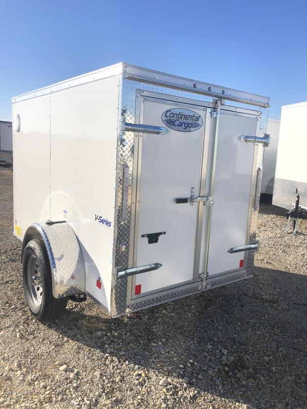 2020 Cargo Mate 5'x8' E-Series Enclosed Cargo Trailer