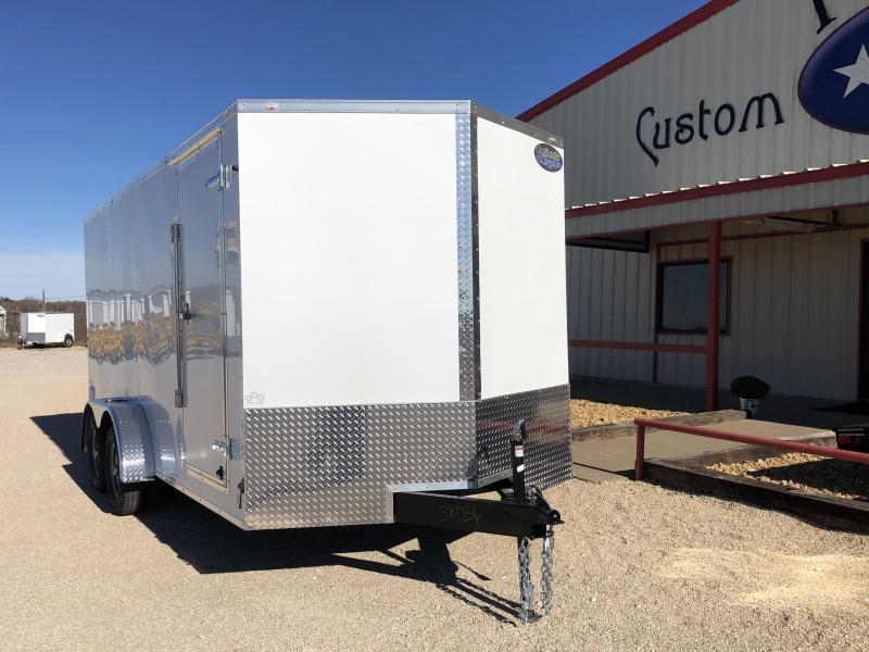 2020 Continental Cargo 7'X16' V-Series Enclosed Cargo Trailer