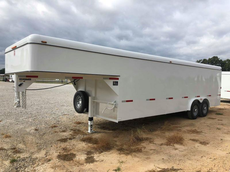 2020 W-W Trailer 24'X8' Enclosed Cargo Hauler Trailer