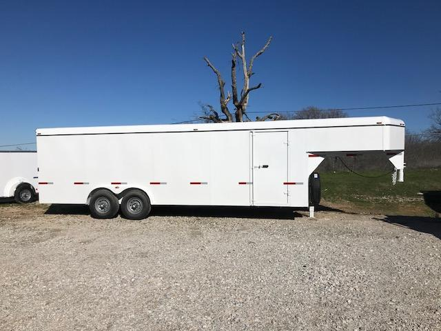 2020 W-W Trailer CH 24x8 Enclosed Cargo Trailer