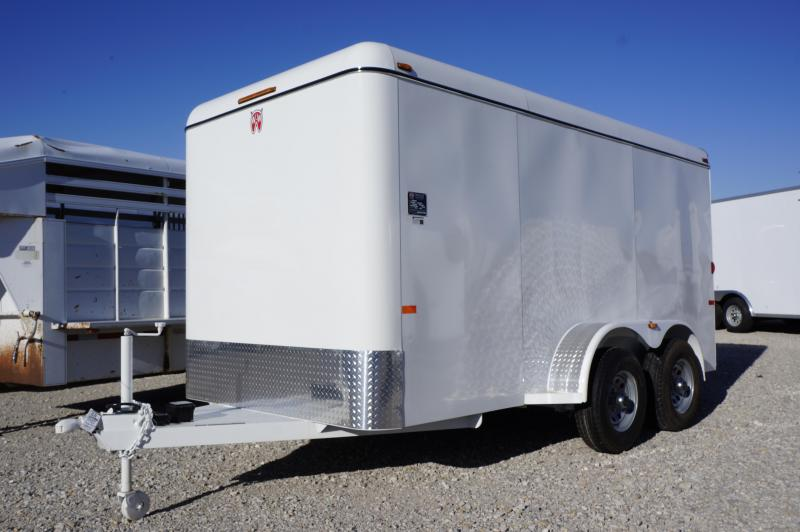 2020 W-W Trailer 14' X 6.'8 Enclosed Cargo Trailer
