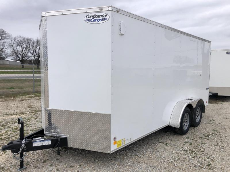 2021 Continental Cargo 7'X16' Enclosed Cargo Trailer