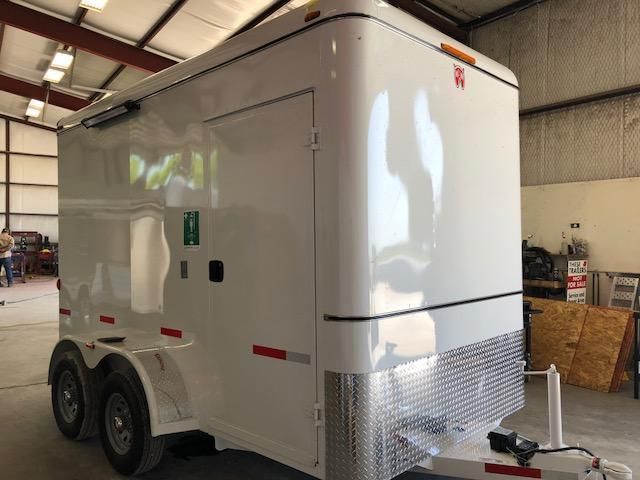 2018 W-W Trailer 12'X6.8' Shower Trailer