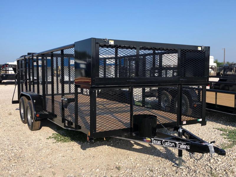 "2020 East Texas 83""x18' Landscape 7K Utility Trailer"