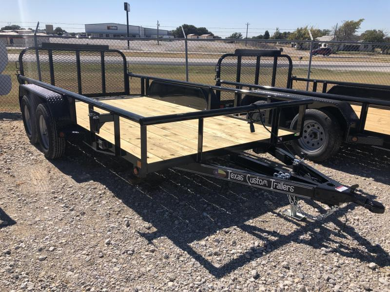 "2020 East Texas 77"" x 14' UTILITY 7k  TRAILER"