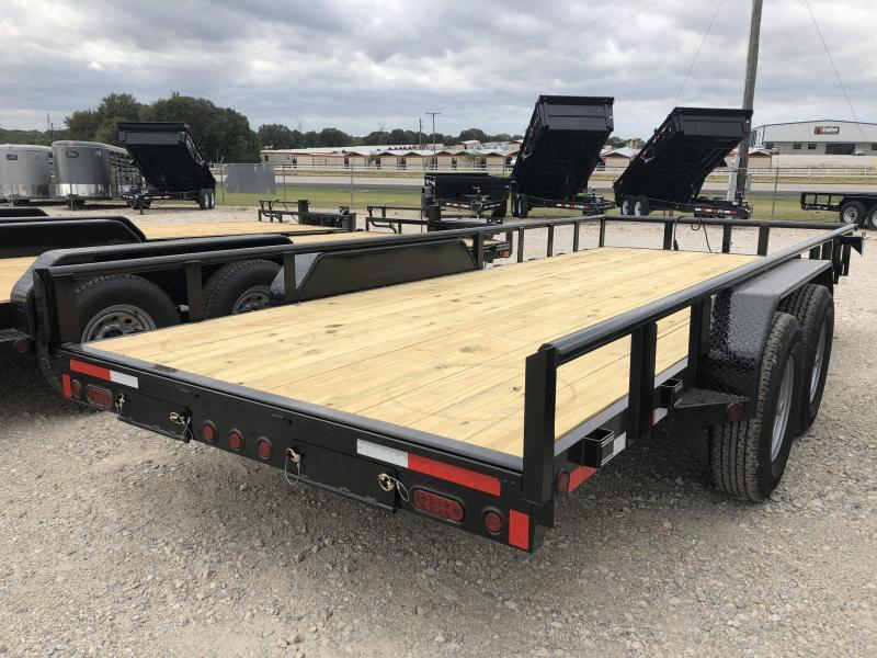 "2020 East Texas 83"" X 18'  12K Equipment Trailer"