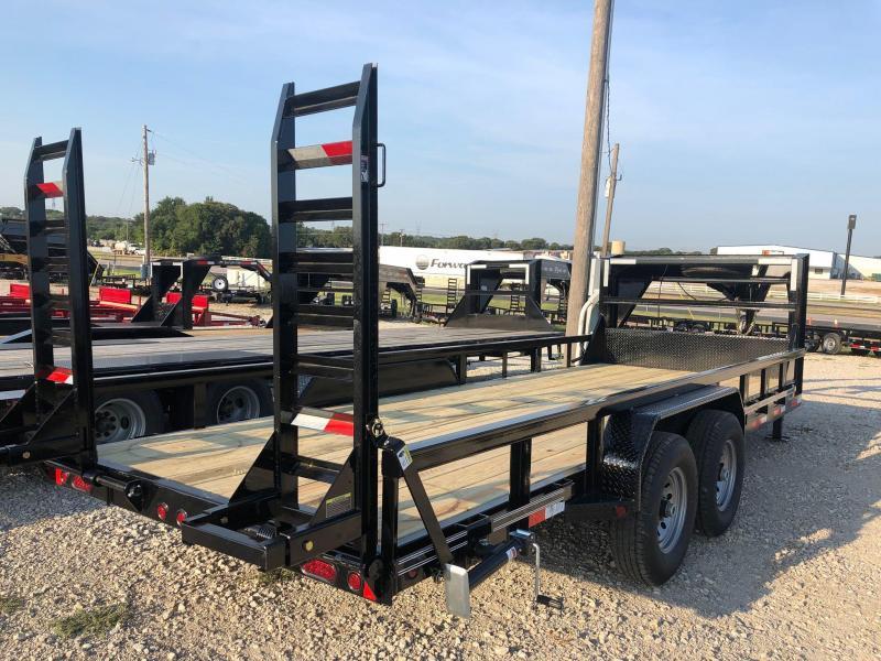 "2020 East Texas 83""x20' GN Low Boy 14K Equipment Trailer"