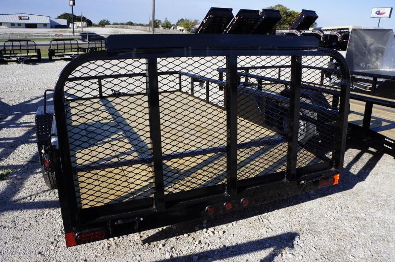 2020 East Texas 77X12 Single Axle Utility Trailer