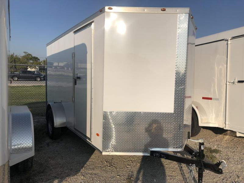 2020 Freedom Trailers 6'x12' Single Axle Enclosed Cargo Trailer