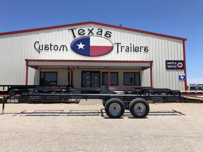 2017 May Trailers 20' BP 4 Bale Individual Dump Hay Trailer